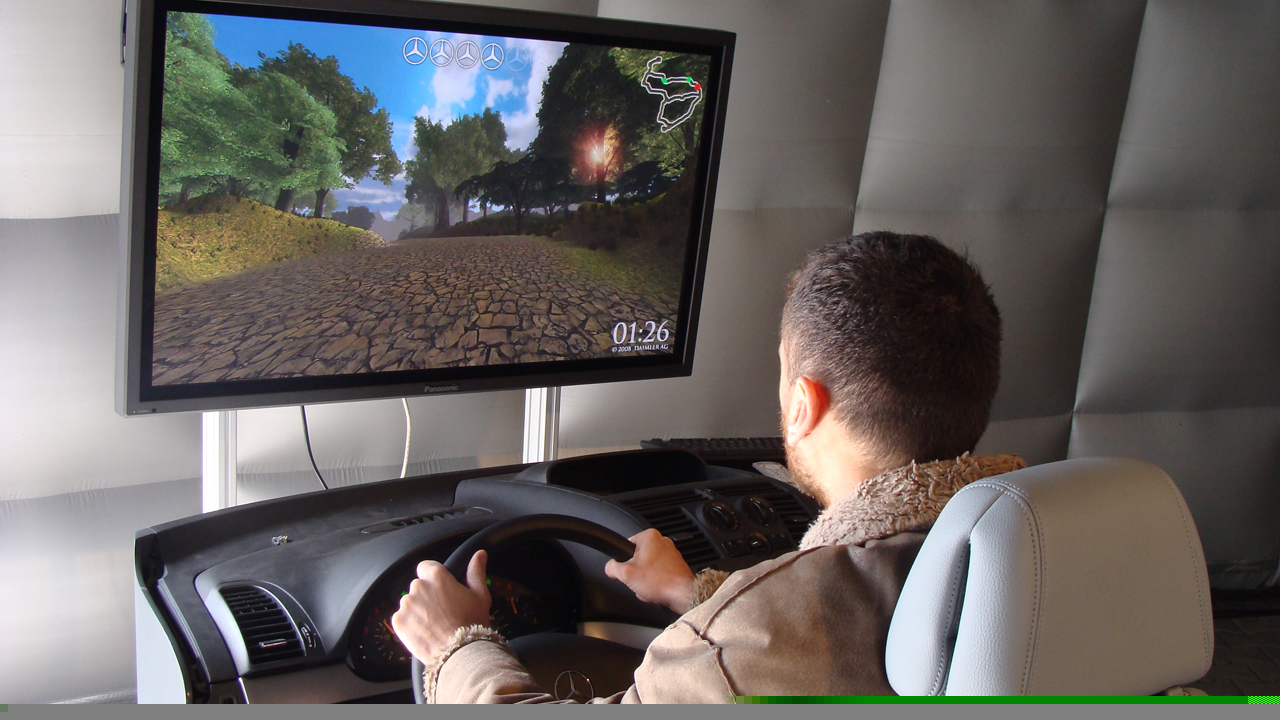 Mercedes – Driving Simulator