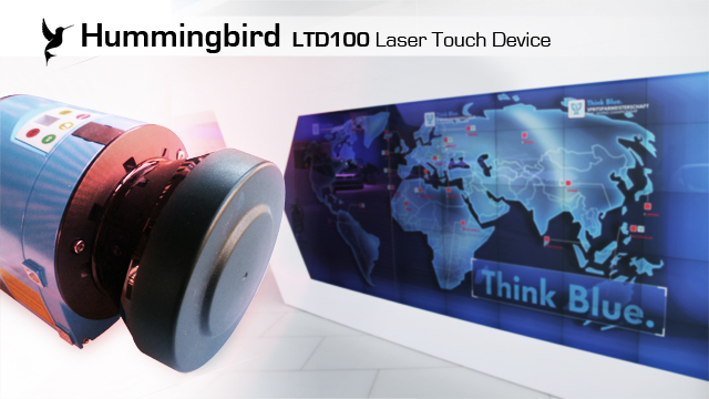 World premiere: new Laser Touch System