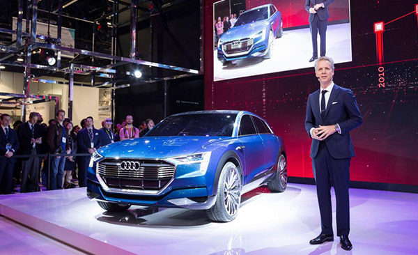 Audi Press Conference at CES 2016