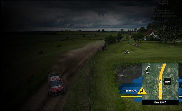 FIA World Rally Championship  <br>   Race track visualisation