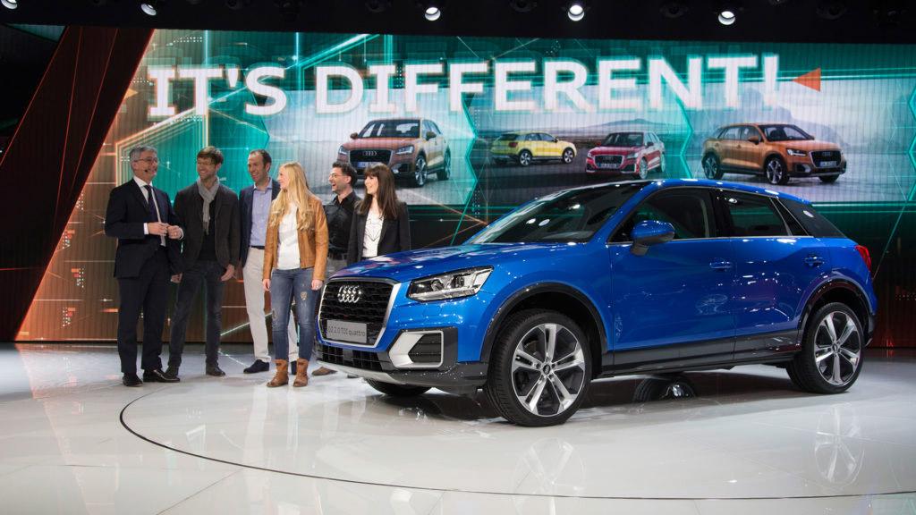 Audi Press Conference at Geneva Auto Show