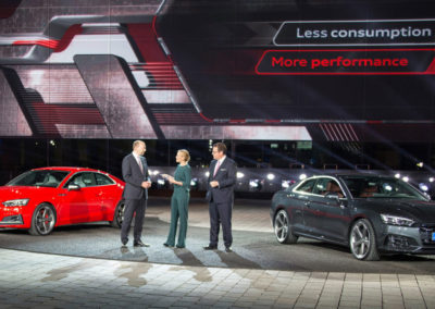 Launch of Audi A5/S5 in Ingolstadt