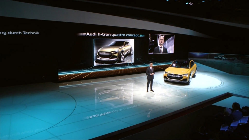 Audi Press Conference at NAIAS