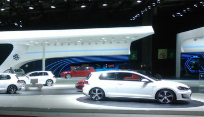 Feature Lab for Volkswagen / Paris Motor Show 2012