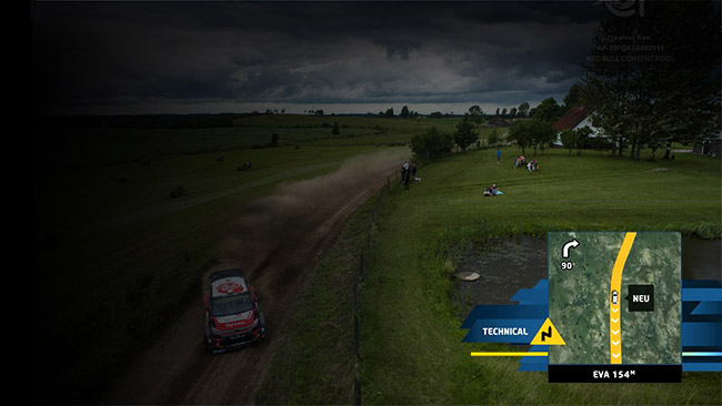 FIA World Rally Championship Race track visualisation